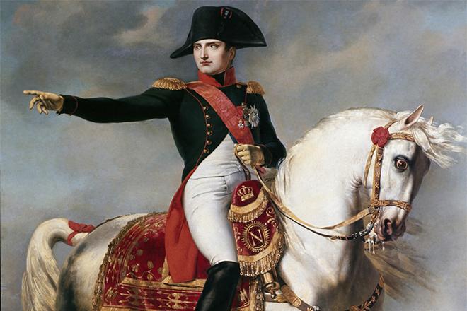 Наполеон IБонапарт (1769–1821годы) спал около 4часов всутки