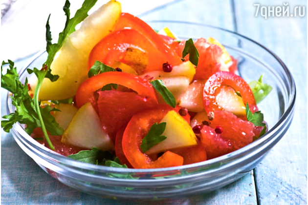 Фруктовый салат с грушами и …