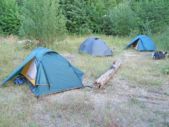 Палаточный переполох