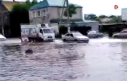 Половодье в Астраханской области достигло пика