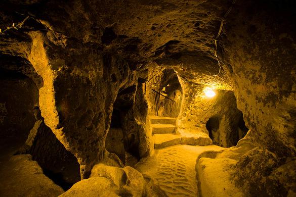 Турция открывает подземные города Кыршехира для туристов