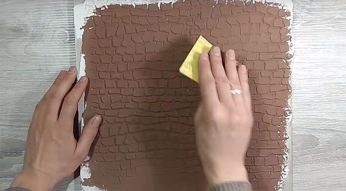 Фактурный валик для отделки стен своими руками ремонт