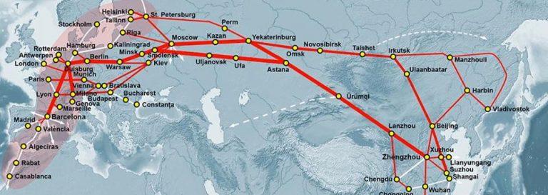 Китай и ЕС сделали Украину железнодорожным изгоем