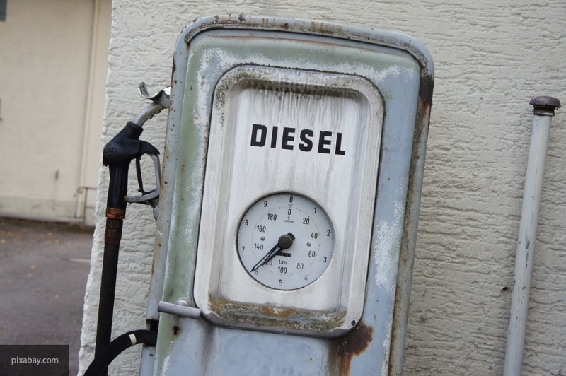 Украина заявила о снижении поставок российского дизеля вдвое