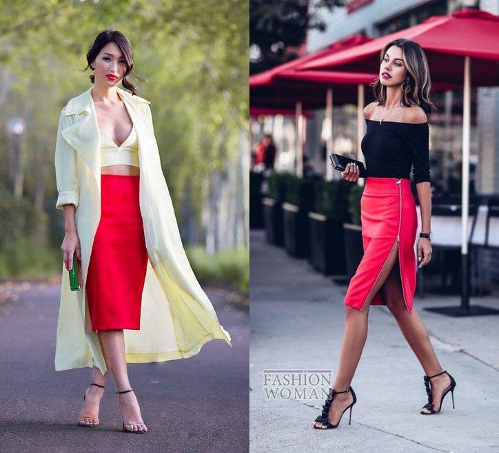 С чем носить юбку-карандаш и выглядеть модно фото №14
