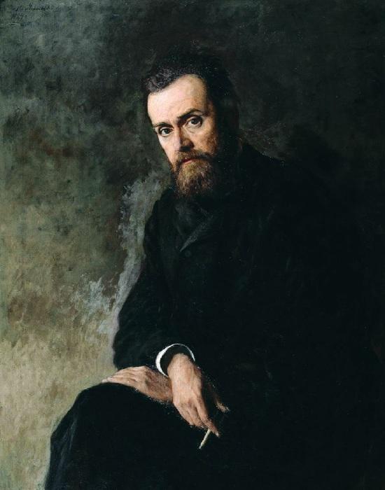 «Портрет Глеба Успенского». Автор: Н. Ярошенко.