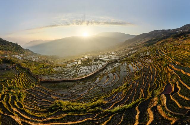 Китай: рисовые поля Юньнаня-2