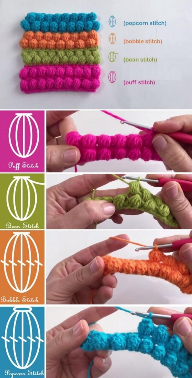 Воздушные узоры для вязания крючком вязание