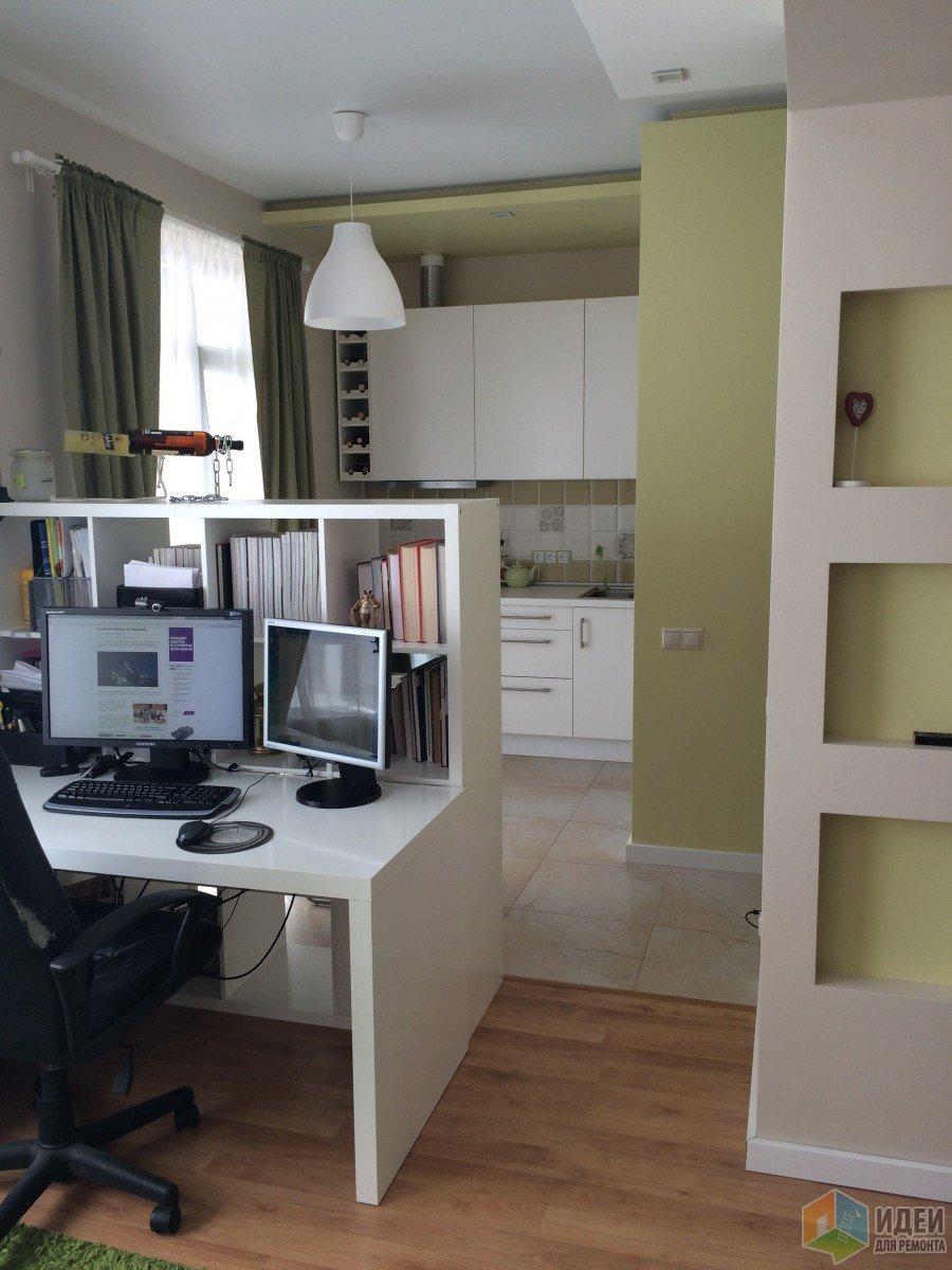 Квартира-студия зонирование, современная квартира-студия фото