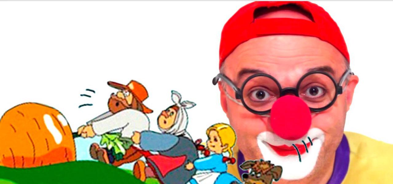 Сказки. РЕПКА. Клоун Дима. Игры для детей.