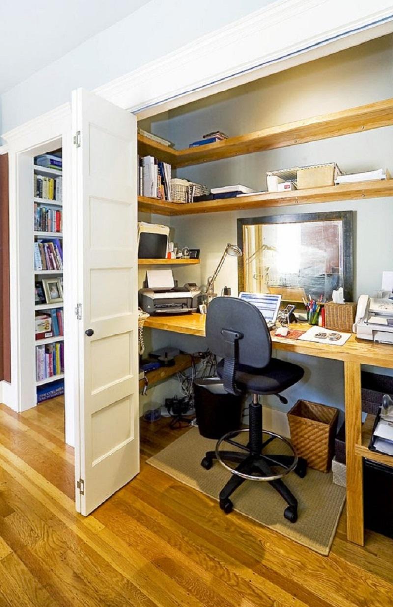 Рабочее место в шкафу картинки