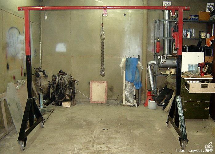 Приспособы в гараж своими руками