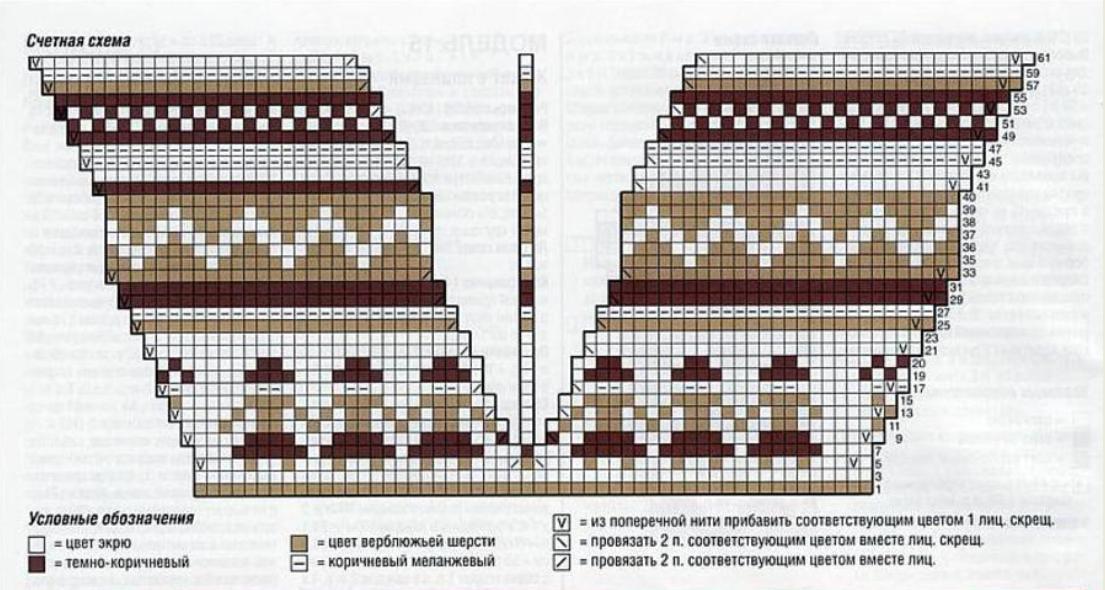 11а shema-vyazaniya-yubka-spicami-s-gakkardovim-uzorom