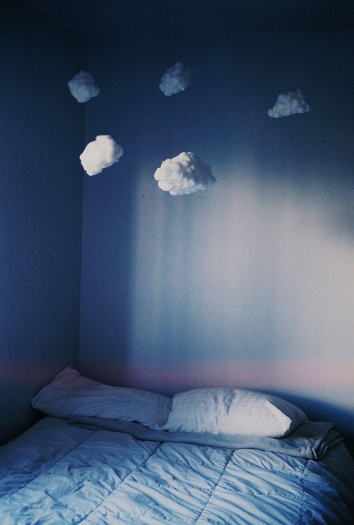 Облака в интерьере - облачка из ваты