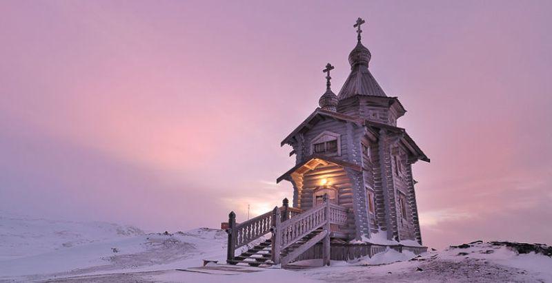 Церкви в Антарктиде