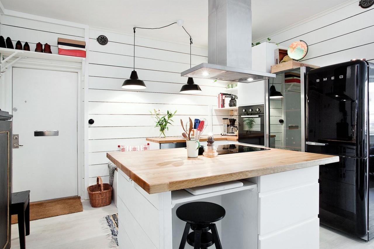 4 идеи для маленькой кухни, у которых есть чему поучиться
