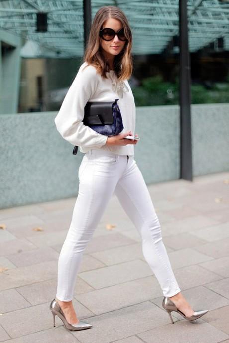 Белый цвет в одежде. 20+ total white looks