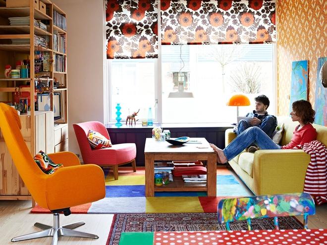 Яркий дом в Нидерландах: торжество жизни