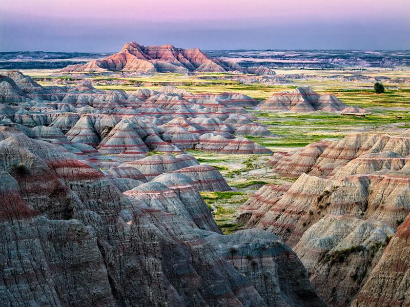 19. Национальный парк Бэдлендс, Южная Дакота красота, мир, природа