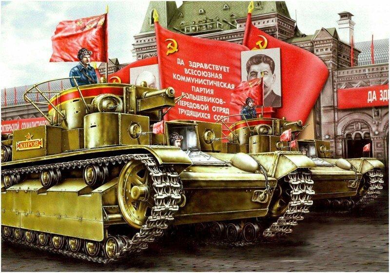 Численный перевес СССР в тан…