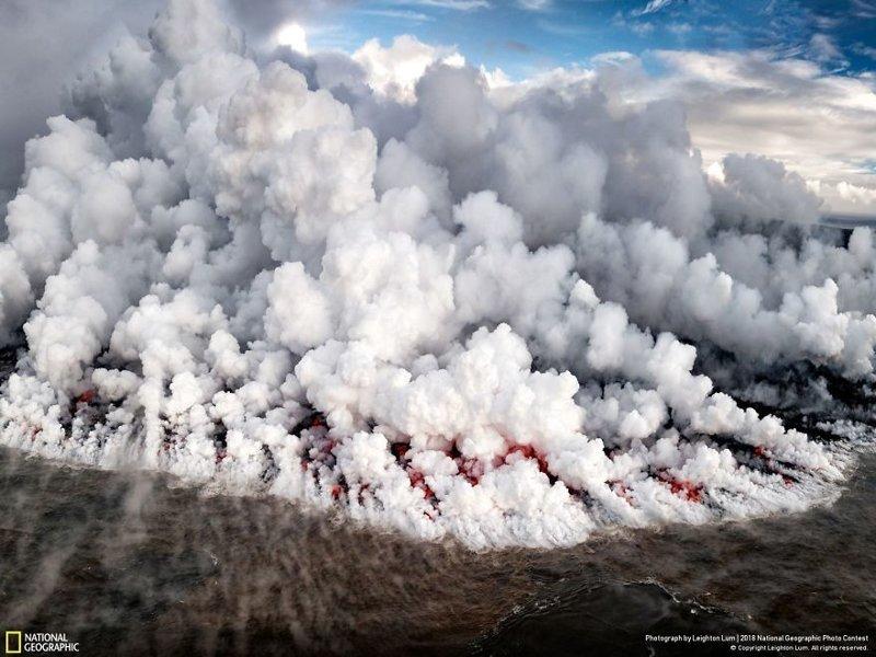 Земля в огне, Лейтон Лум national geographic, конкурс, красота, природа, удивительно, фото, фотография, фотоподборка
