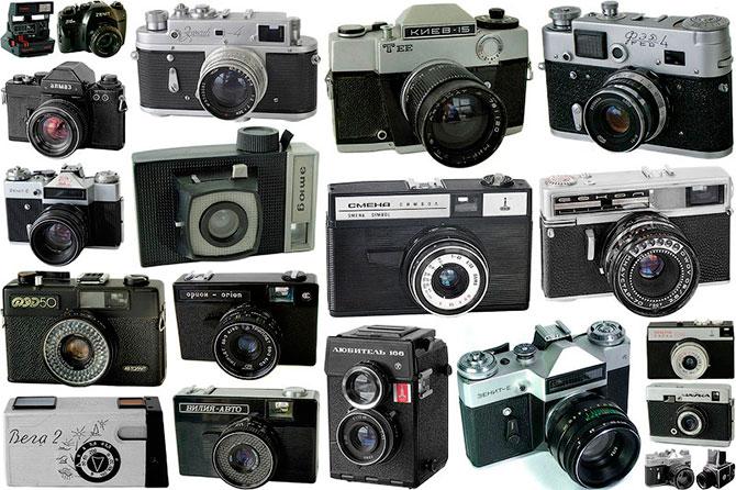 Вспоминая советские фотоаппараты
