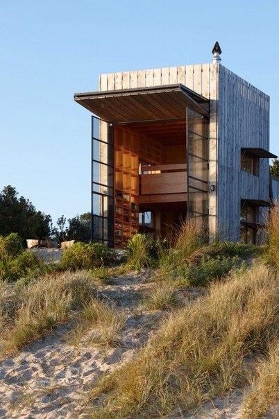 Передвижной деревянный микро дом