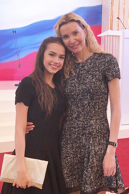 Алина Загитова рассказала о своих отношениях с Евгенией Медведевой: