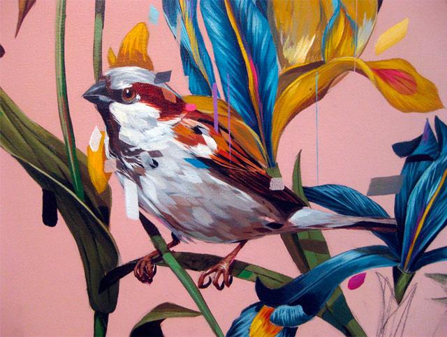 Яркие краски в работах американского художника Frank Gonzales