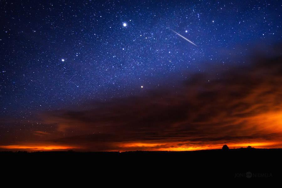 Фото звездное небо ночью