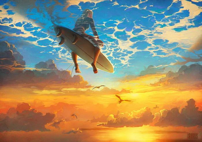 Красивые картинки фантазийных миров