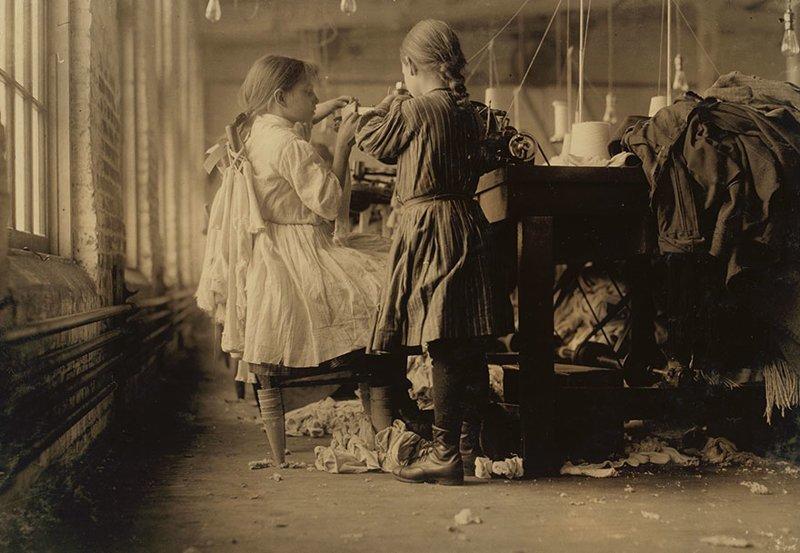 Вот так выглядела эксплуатация детского труда в начале ХХ века ХХ век, дети-работники, детский труд, интересно, история, познавательно, фотосвидетельства, эксплуатация детей