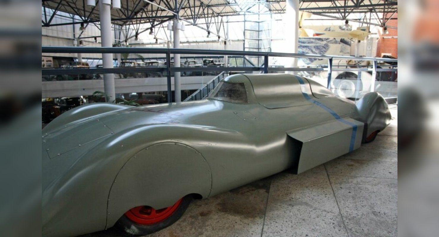 Спортивный болид «Пионер» из СССР Автомобили
