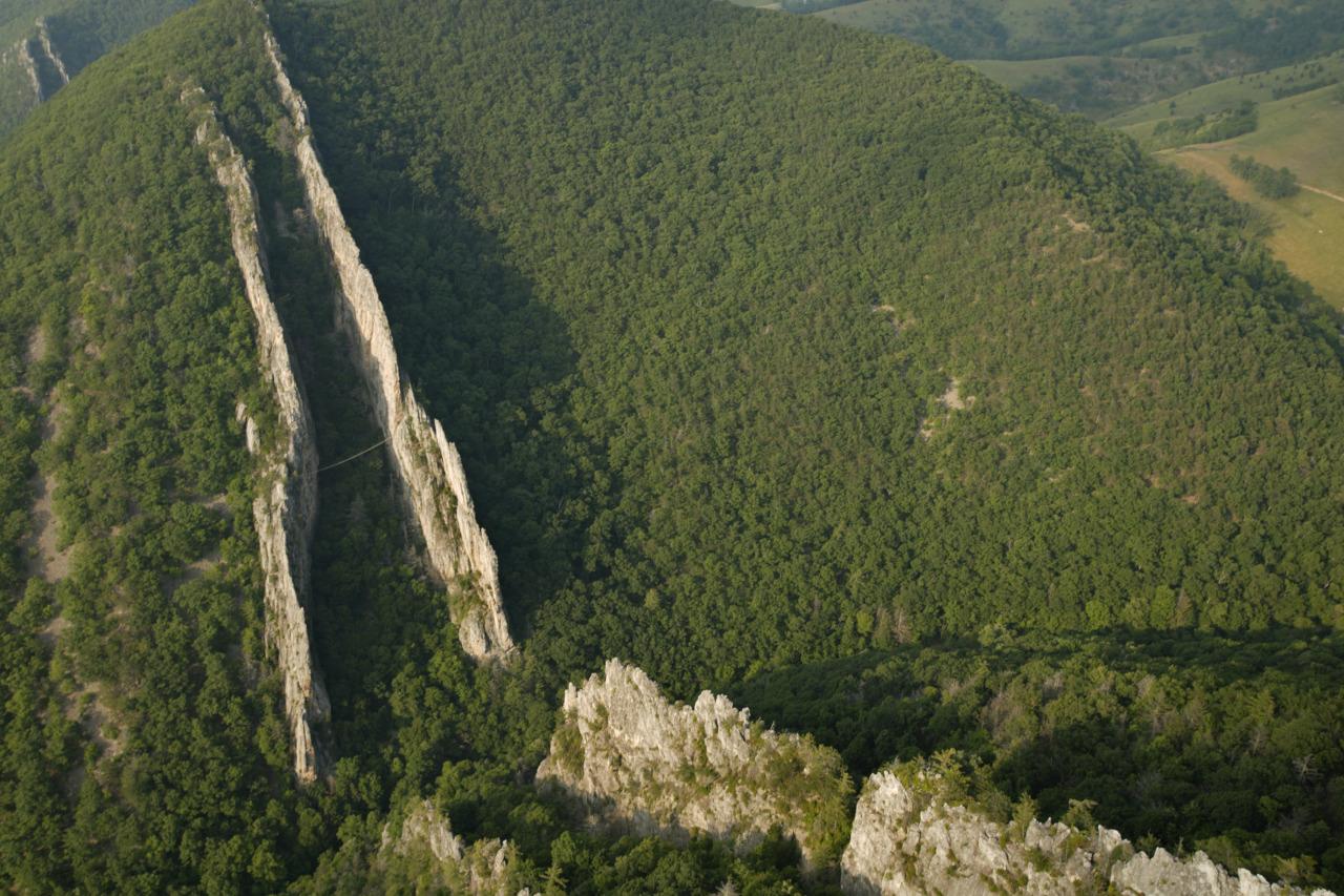 Via Ferrata - железная тропа - не дай бог кому-то на нее попасть!