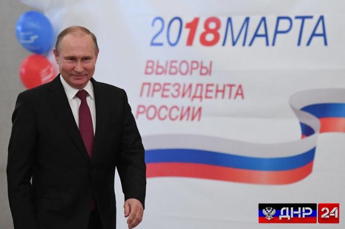 Данные экзит-поллов: Путин выигрывает выборы в 1-м туре