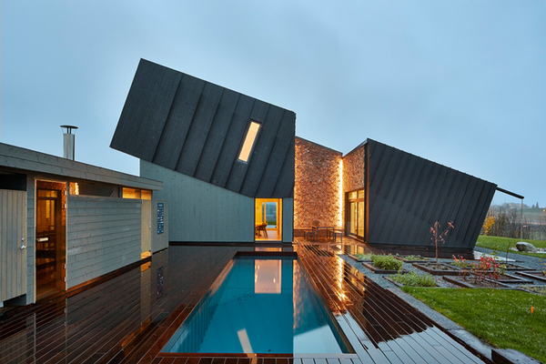 Самый энергоэффективный дом в мире построили норвежские архитекторы