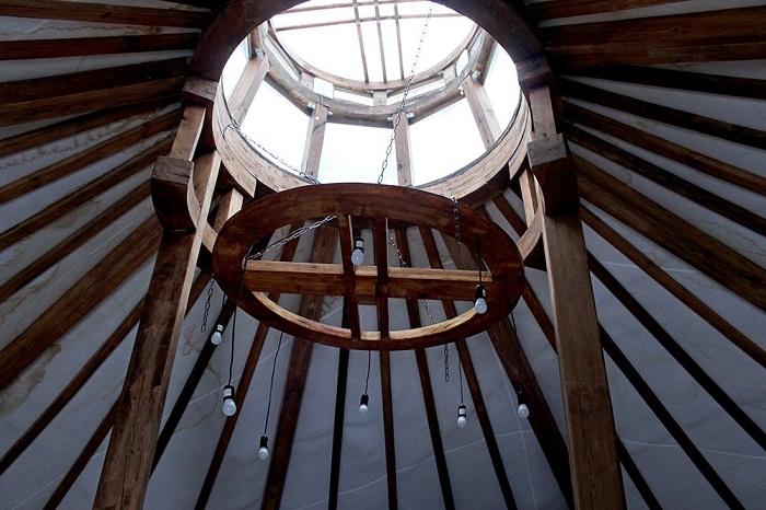 Через прозрачный купол можно будет любоваться звездным небом. | Фото: Руслан Мельников /РГ.