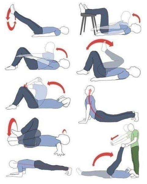Эффективные упражнения для пресса