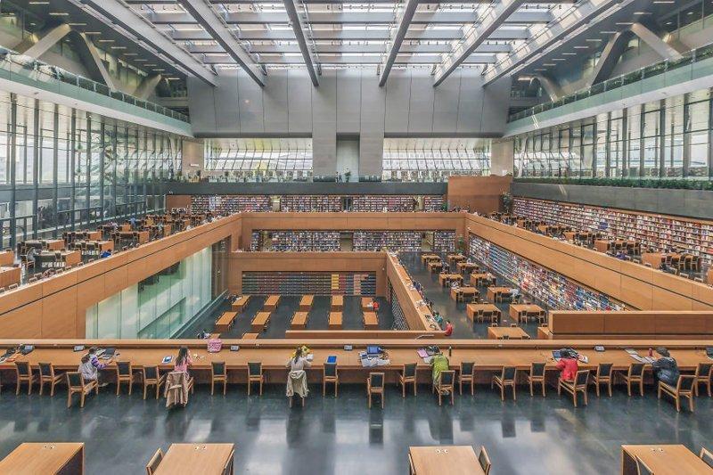 12. Китайская национальная библиотека, Пекин, Китай архитектура, библиотека, библиотеки, библиотеки мира, красота, путешествия, фотограф, фотопроект