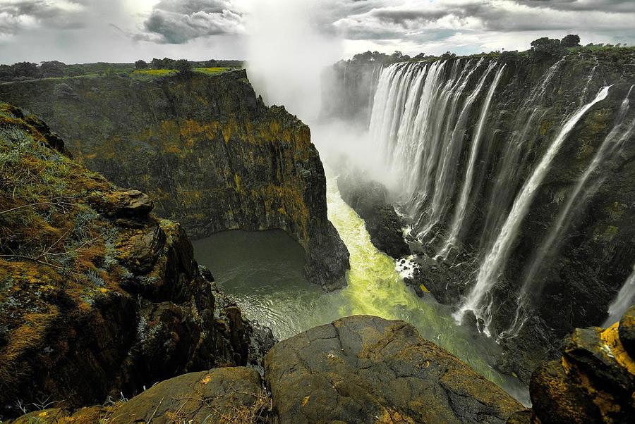 30 захватывающих фотографий водопадов
