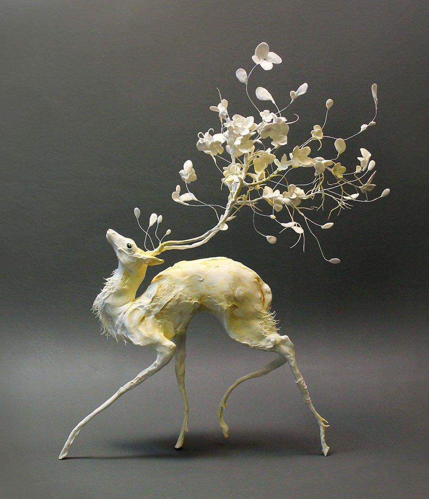 Изящные скульптуры из глины