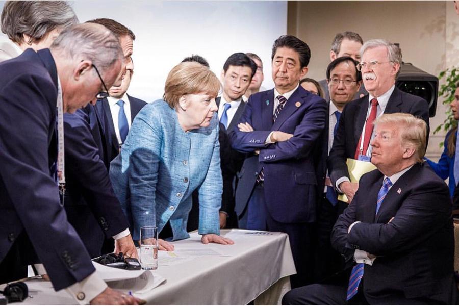 О врушке-старушке Меркель