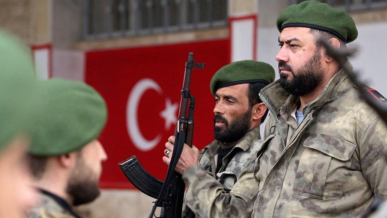Сирия:  генштаб ВС Турции со…