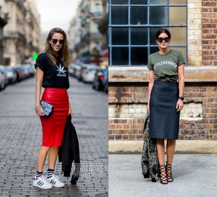 С чем носить юбку-карандаш и выглядеть модно фото №16
