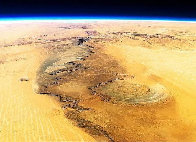 Глаз Сахары, Мавритания интеренсое, планета земля, туризм