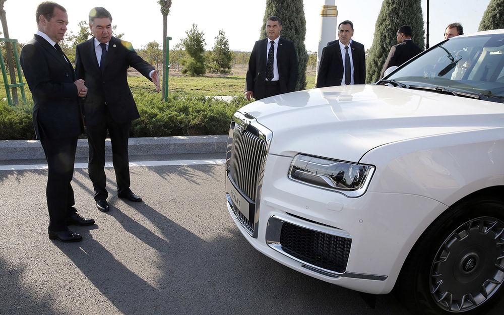 ШАХИМАТ, Русофобы! Россииские технологии получили признание на международном рынке! авто,автопром,Аурус,общество,Россия,Туркмения