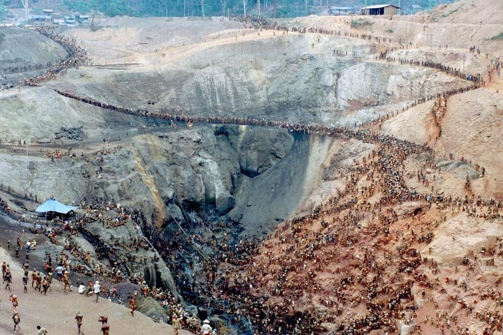 Золотая лихорадка в Серра Пелада : процесс засняли на фото