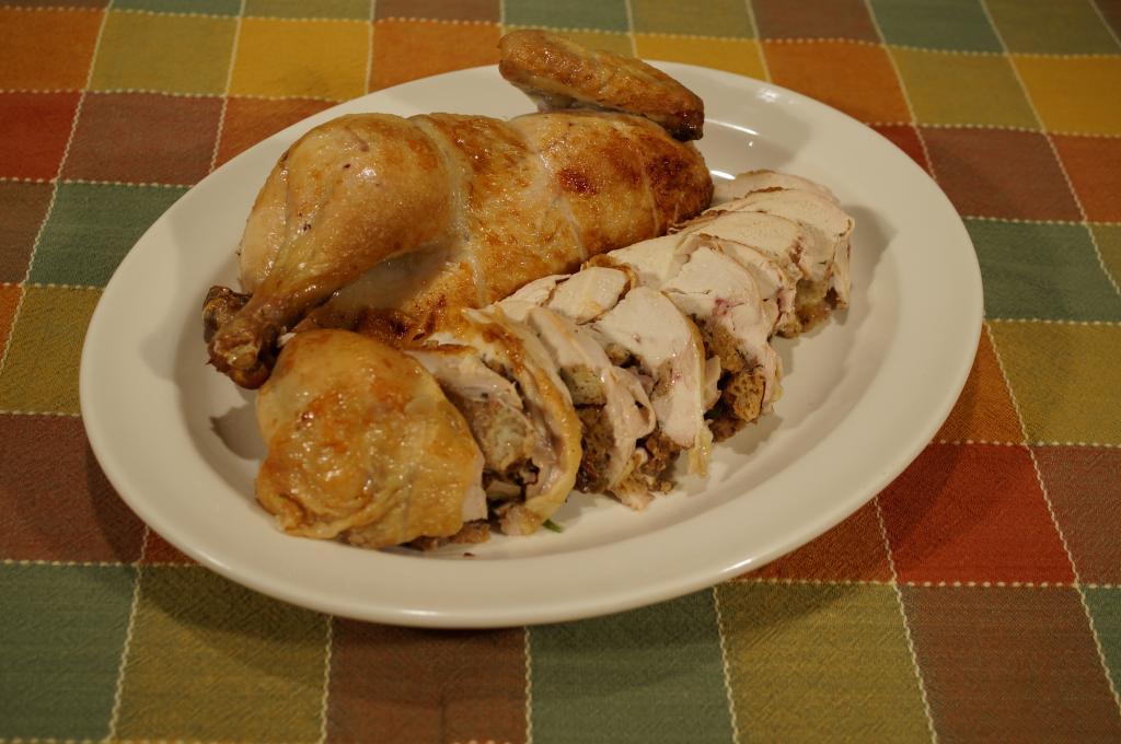 Курица без костей в духовке:…