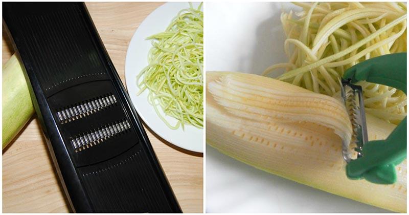 Спагетти из кабачков. Скорее записывайте этот рецепт. Кабачки улетают на раз-два