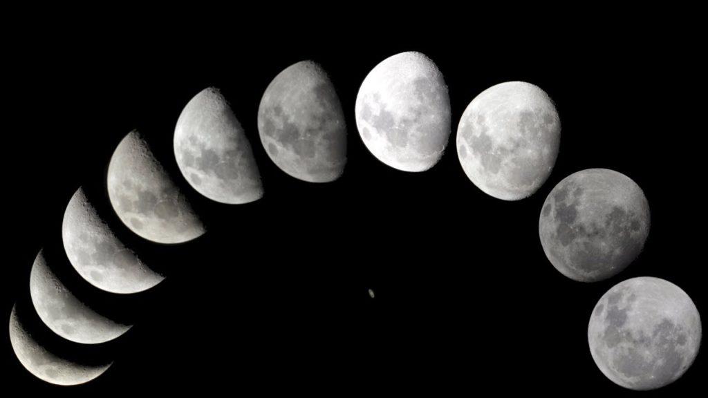 течение везде фазы луны убывающая растущая луна картинки толстый слой краски